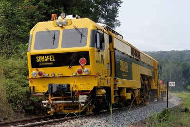 SOMAFEL starts works on the Transgabonais railway line