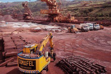 Angariação de novo contrato para a Vale no Brasil